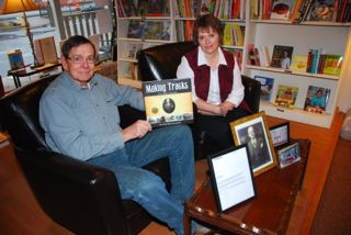 Ed and Sue Claessen at Bookcase of Wayzata small 11-16-13