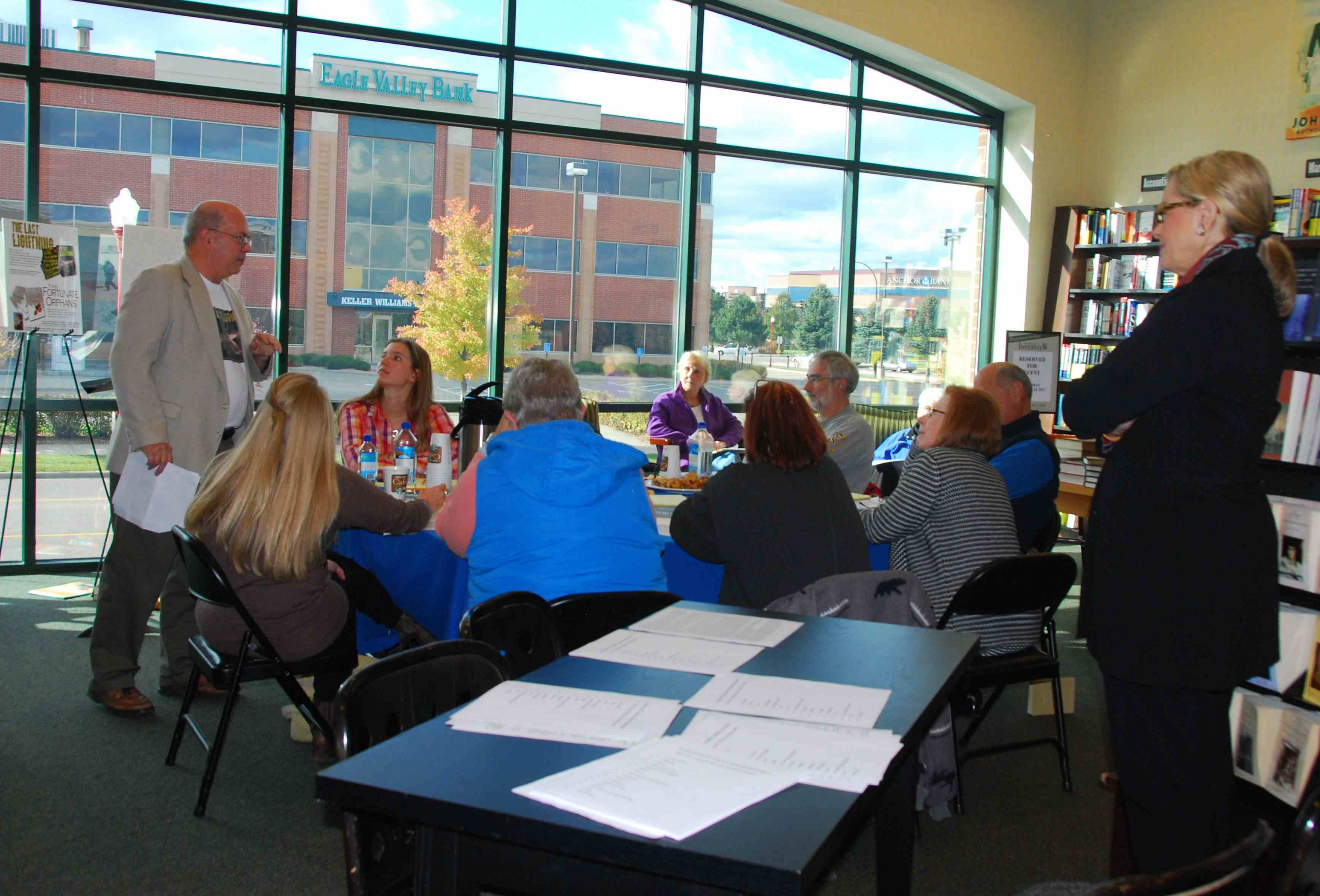 Mystery Writers Workshop - Oct. 26 2013 small