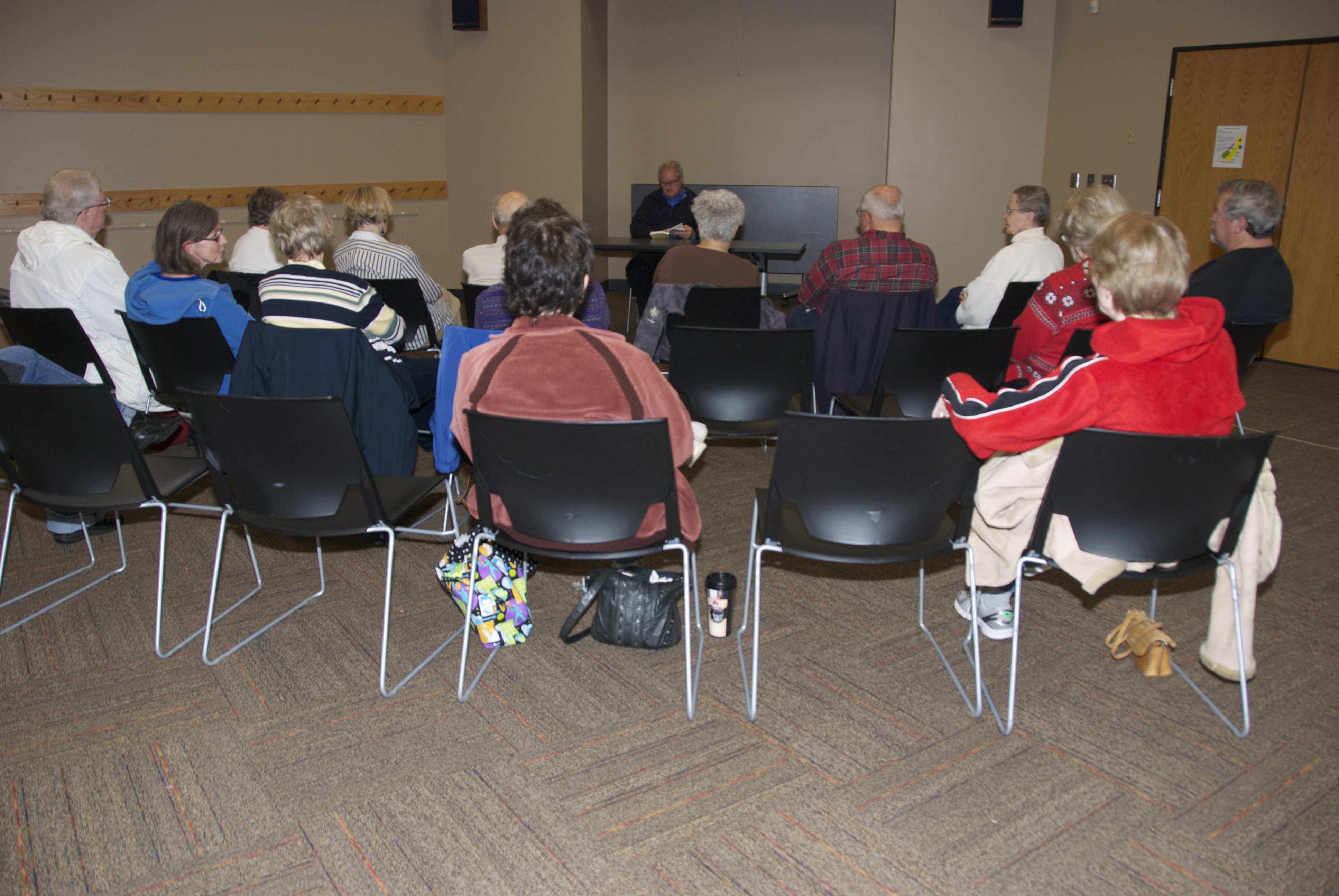 Wynn Johnson - Rockford Road Library 11-3-14